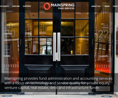 Launch of Mainspring website