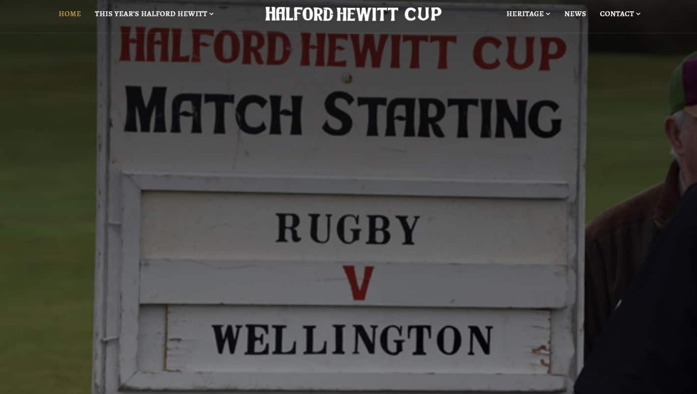 Halford Hewitt Website launch
