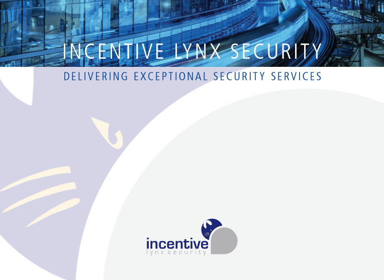 Brochure Design for Incentive Lynx