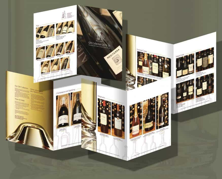 Waud Wines Corporate gifts brochure