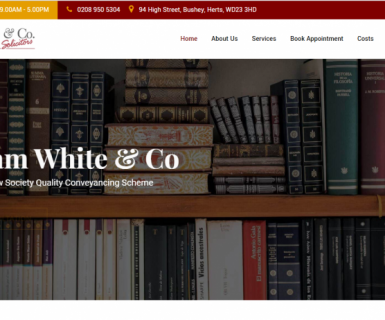New website launch for Graham White