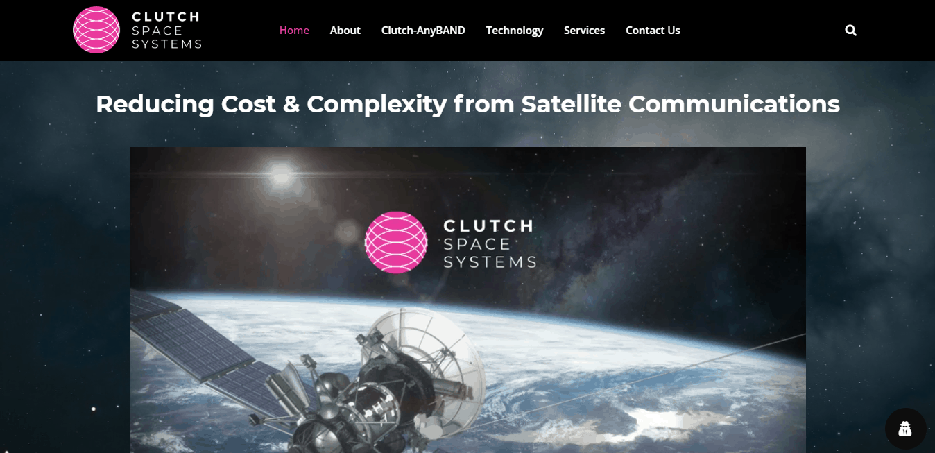 Clutch Space Systems Website Launch